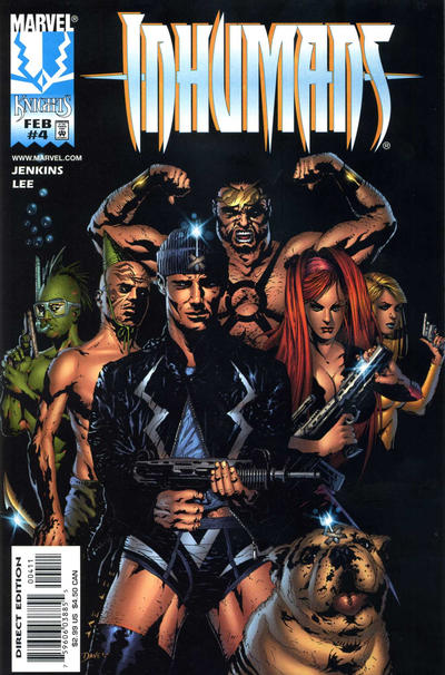 Cover for Inhumans (Marvel, 1998 series) #4