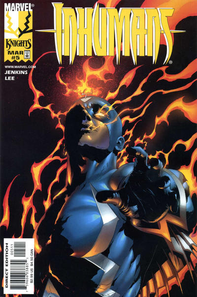 Cover for Inhumans (Marvel, 1998 series) #5