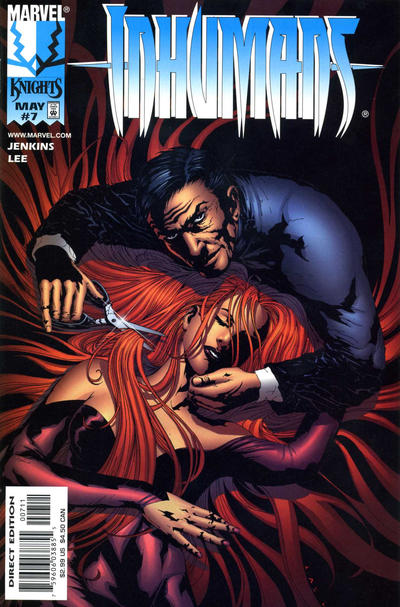 Cover for Inhumans (Marvel, 1998 series) #7