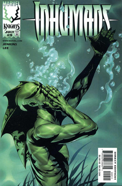 Cover for Inhumans (Marvel, 1998 series) #9