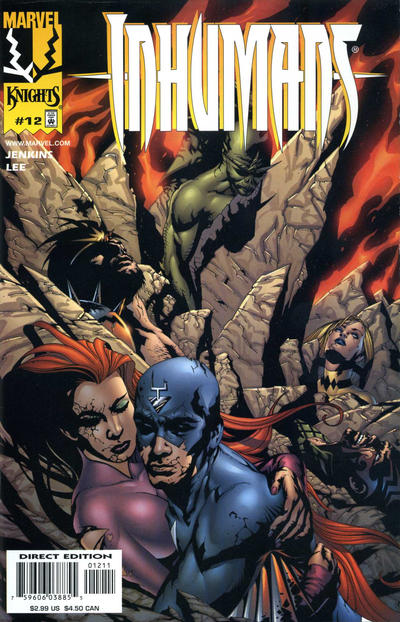 Cover for Inhumans (Marvel, 1998 series) #12