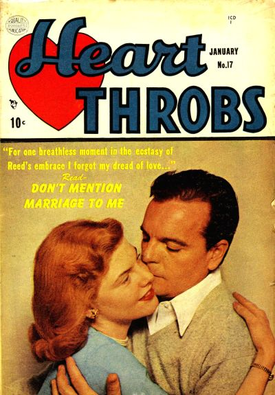 Cover for Heart Throbs (Quality Comics, 1949 series) #17