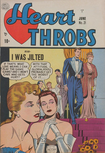 Cover for Heart Throbs (Quality Comics, 1949 series) #21