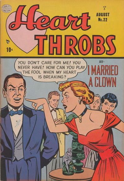 Cover for Heart Throbs (Quality Comics, 1949 series) #22
