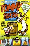 Cover for Tommy og Tigern (Bladkompaniet / Schibsted, 1989 series) #4/1990
