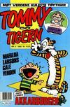 Cover for Tommy og Tigern (Bladkompaniet / Schibsted, 1989 series) #5/1990