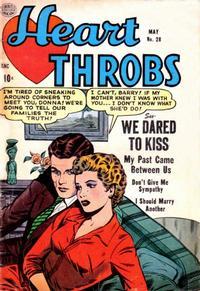 Cover Thumbnail for Heart Throbs (Quality Comics, 1949 series) #28