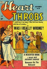 Cover Thumbnail for Heart Throbs (Quality Comics, 1949 series) #30