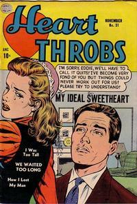 Cover Thumbnail for Heart Throbs (Quality Comics, 1949 series) #31