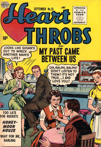 Cover Thumbnail for Heart Throbs (Quality Comics, 1949 series) #35