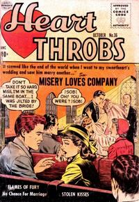 Cover Thumbnail for Heart Throbs (Quality Comics, 1949 series) #36