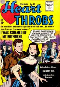 Cover Thumbnail for Heart Throbs (Quality Comics, 1949 series) #40