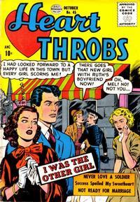Cover Thumbnail for Heart Throbs (Quality Comics, 1949 series) #45