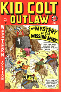 Cover Thumbnail for Kid Colt Outlaw (Marvel, 1949 series) #5