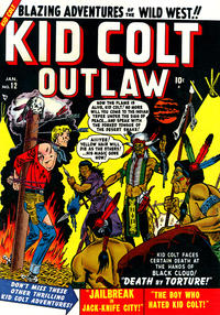Cover Thumbnail for Kid Colt Outlaw (Marvel, 1949 series) #12
