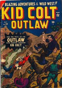 Cover Thumbnail for Kid Colt Outlaw (Marvel, 1949 series) #20