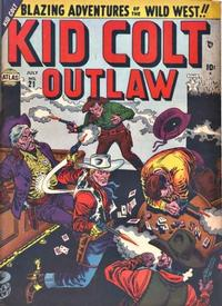 Cover Thumbnail for Kid Colt Outlaw (Marvel, 1949 series) #21