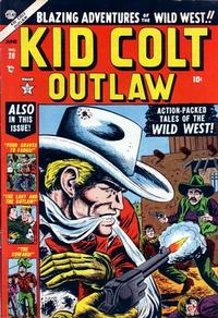 Cover Thumbnail for Kid Colt Outlaw (Marvel, 1949 series) #28
