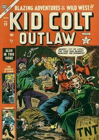 Cover Thumbnail for Kid Colt Outlaw (Marvel, 1949 series) #29