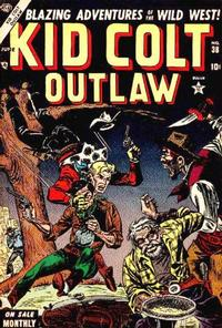 Cover Thumbnail for Kid Colt Outlaw (Marvel, 1949 series) #38