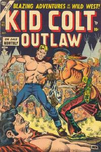 Cover Thumbnail for Kid Colt Outlaw (Marvel, 1949 series) #41