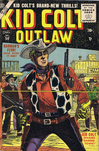 Cover Thumbnail for Kid Colt Outlaw (Marvel, 1949 series) #50