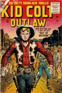 Cover Thumbnail for Kid Colt Outlaw (Marvel, 1949 series) #60