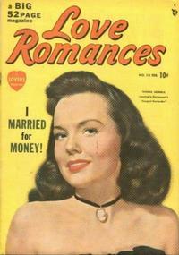 Cover Thumbnail for Love Romances (Marvel, 1949 series) #10