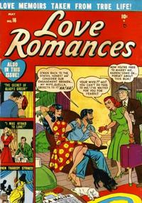Cover Thumbnail for Love Romances (Marvel, 1949 series) #16