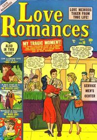 Cover Thumbnail for Love Romances (Marvel, 1949 series) #18