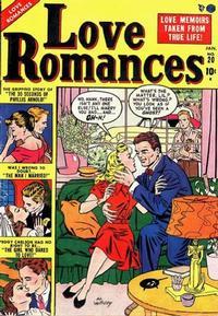 Cover Thumbnail for Love Romances (Marvel, 1949 series) #20