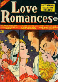 Cover Thumbnail for Love Romances (Marvel, 1949 series) #25