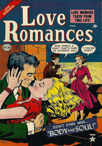 Cover Thumbnail for Love Romances (Marvel, 1949 series) #27