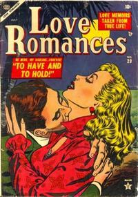 Cover Thumbnail for Love Romances (Marvel, 1949 series) #29