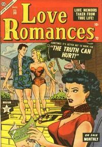 Cover for Love Romances (Marvel, 1949 series) #30