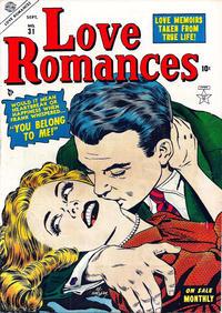 Cover Thumbnail for Love Romances (Marvel, 1949 series) #31