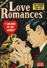 Cover Thumbnail for Love Romances (Marvel, 1949 series) #33