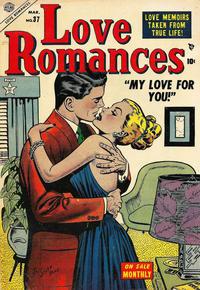 Cover Thumbnail for Love Romances (Marvel, 1949 series) #37