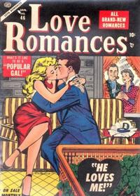 Cover Thumbnail for Love Romances (Marvel, 1949 series) #46