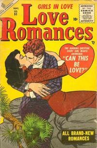 Cover Thumbnail for Love Romances (Marvel, 1949 series) #51