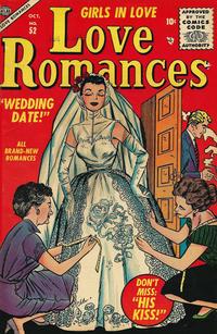 Cover Thumbnail for Love Romances (Marvel, 1949 series) #52