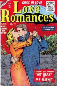 Cover Thumbnail for Love Romances (Marvel, 1949 series) #56