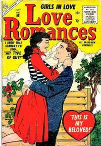 Cover Thumbnail for Love Romances (Marvel, 1949 series) #58