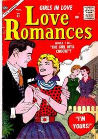 Cover Thumbnail for Love Romances (Marvel, 1949 series) #61