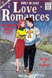 Cover Thumbnail for Love Romances (Marvel, 1949 series) #62