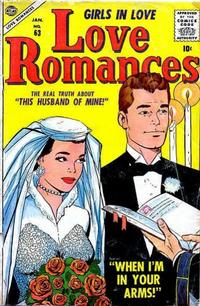 Cover Thumbnail for Love Romances (Marvel, 1949 series) #63