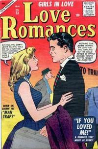 Cover Thumbnail for Love Romances (Marvel, 1949 series) #73