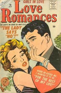Cover Thumbnail for Love Romances (Marvel, 1949 series) #76