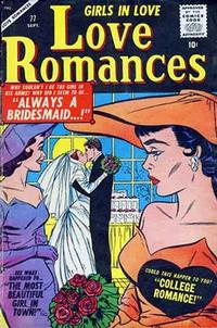 Cover Thumbnail for Love Romances (Marvel, 1949 series) #77