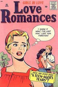 Cover Thumbnail for Love Romances (Marvel, 1949 series) #92